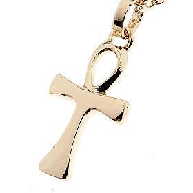Croce della vita catenina oro 750/00 - gr. 1,30 s1