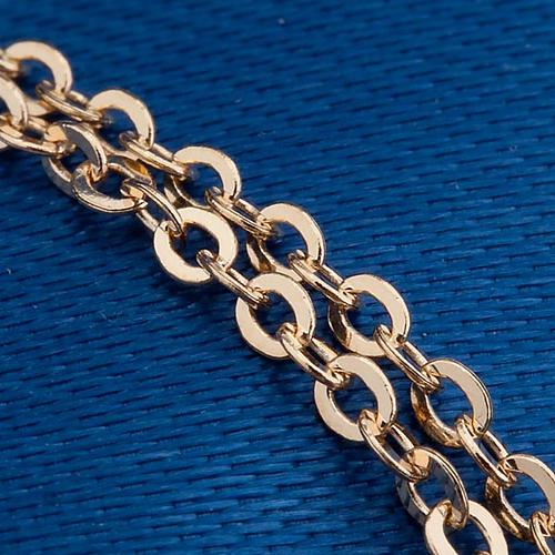 Tau cross gold 750/00 necklace - 1,40 gr 3