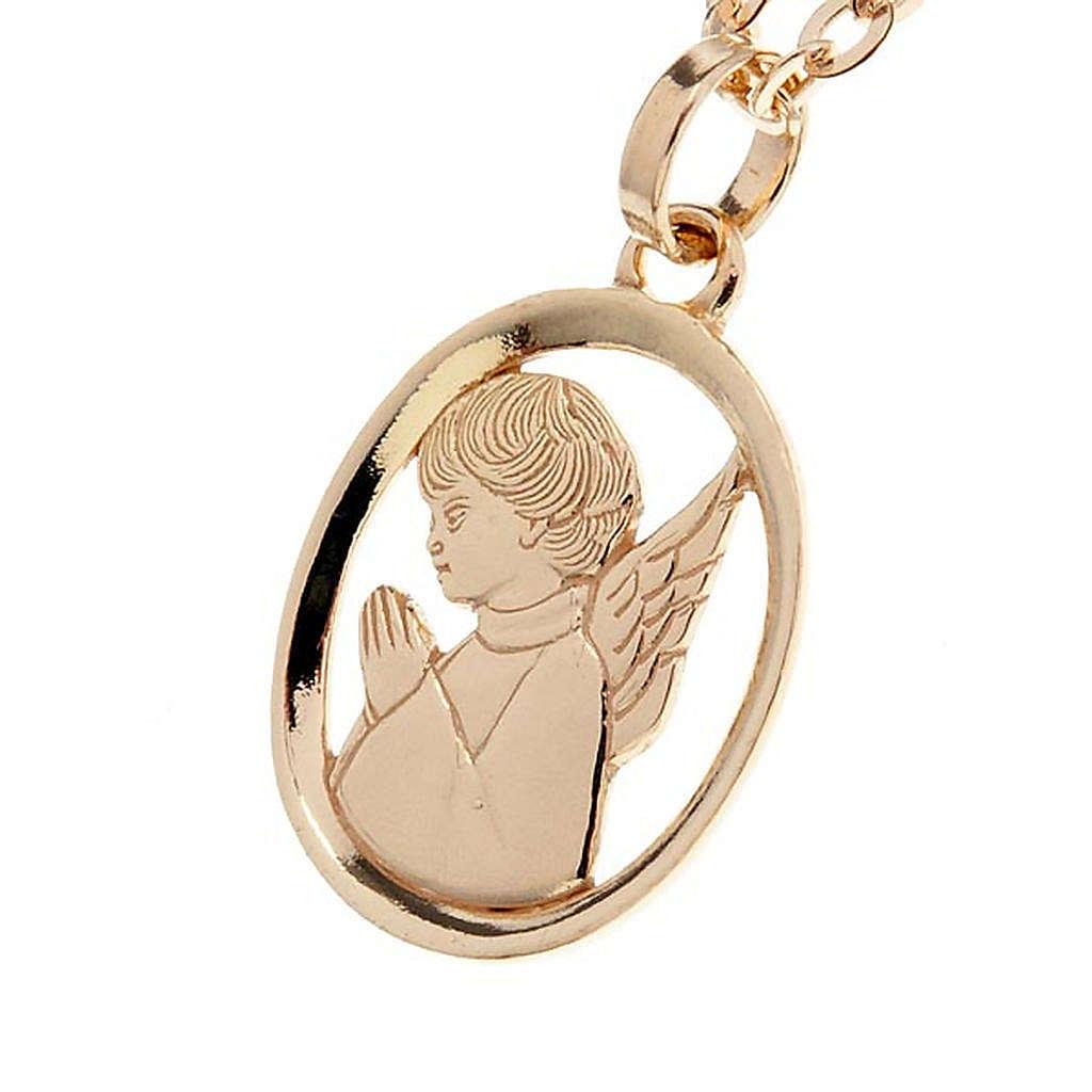 Angelo custode pendente oro 750/00 - gr. 1,55 4