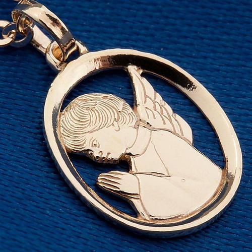 Angelo custode pendente oro 750/00 - gr. 1,55 3