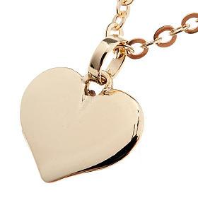 Pingentes, Cruzes, Broches, Correntes: Coração pingente ouro 750/00 1,60 g