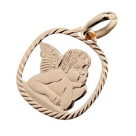 Angelo di Raffaello pendente oro 750/00 - gr. 1,30 s1
