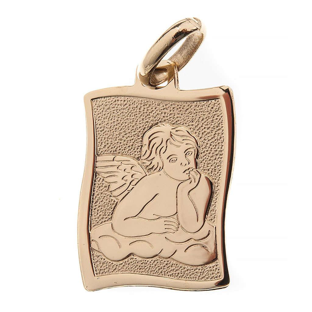 Angelo di Raffaello medaglia oro 750/00 lucido - gr.1.60 4