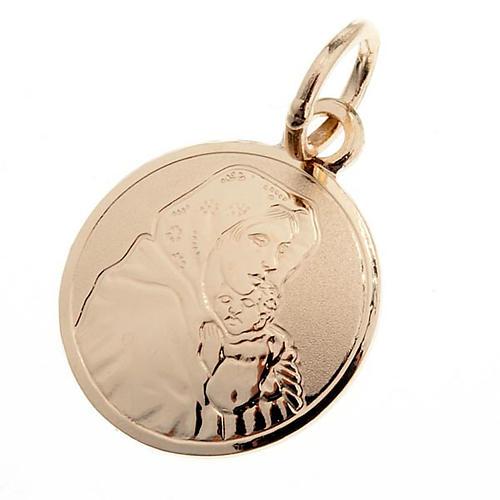 Madonna Ferruzzi medaglia oro 750/00 - gr. 1,00 1