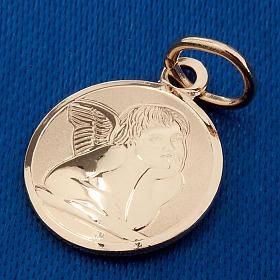 Angelo di Raffaello medaglia tonda oro 750/00 - gr. 1,0 s3