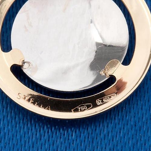 Angelo di Raffaello medaglia tonda oro 750/00 - gr. 1,3 2