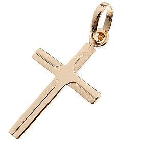 Croce pendente oro 750/00 - gr. 0,48 s1