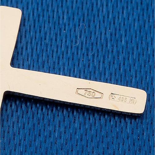 Croce pendente oro 750/00 - gr. 0,48 2
