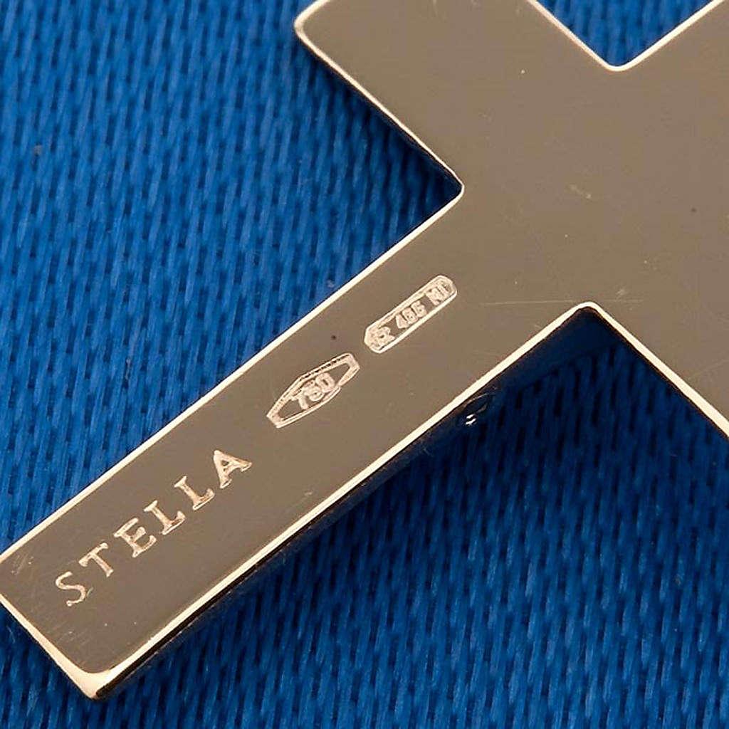 Pendentif croix or 750/00 1.50 gr 4