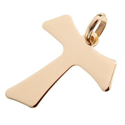 Tau croce pendente oro 750/00 - gr. 2,00 1