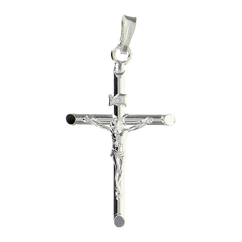 Croce pendente argento 925 1