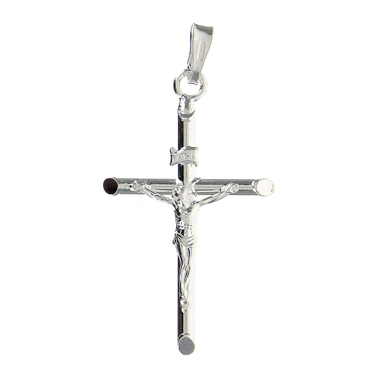 Krzyżyk zawieszka srebro 925 4