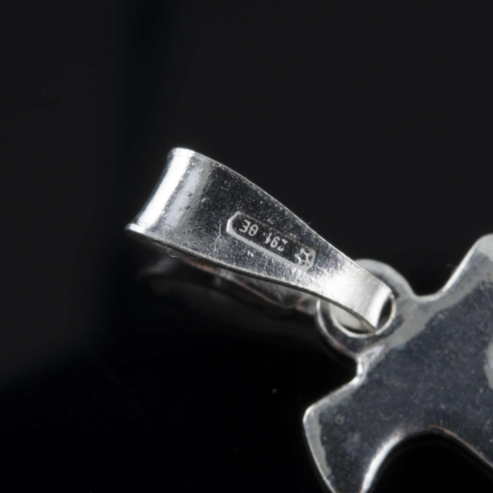 Santiago de Compostela Cross in silver 800 4