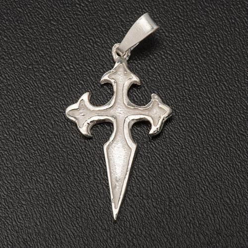 Santiago de Compostela Cross in silver 800 3