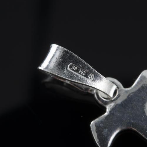 Santiago de Compostela Cross in silver 800 7