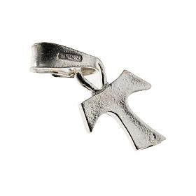 Tau cross in silver 925. 1,2 x 1 cm s1