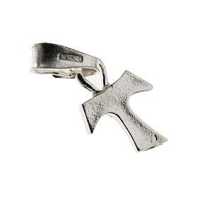Dije Tau de plata 925, 1.2x1 cm s1