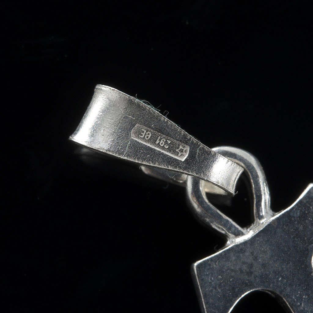 Pingente tau prata 925 1,2x1 cm 4