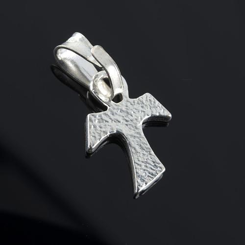 Tau cross in silver 925. 1,2 x 1 cm 3