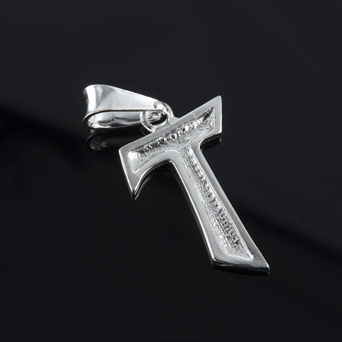 Tau in silver 925. 2 x 1,2 cm 3