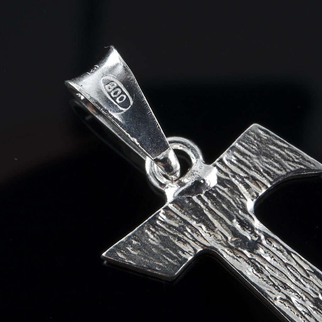 Tau in silver 925. 2 x 1,2 cm 4