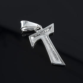 Tau in silver 925. 2 x 1,2 cm s3