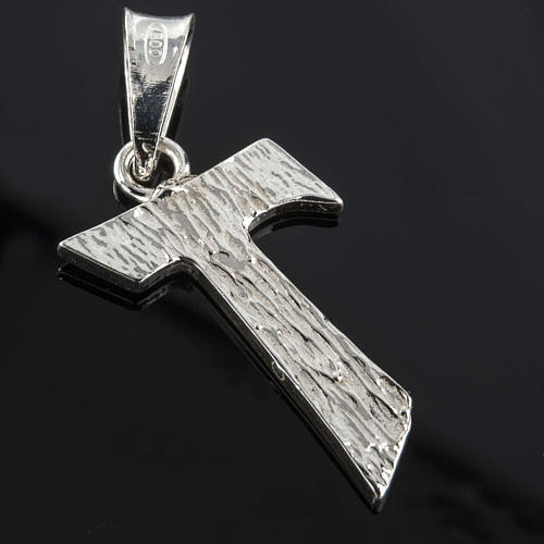 Tau in silver 925. 2 x 1,2 cm 2