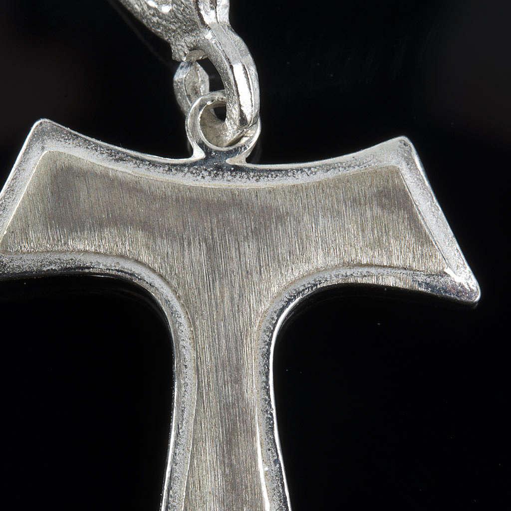 Tau de plata 925, 2x1.6 cm 4