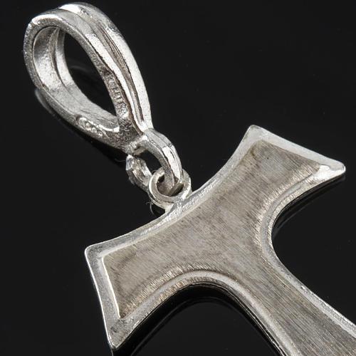 Tau de plata 925, 2x1.6 cm 3