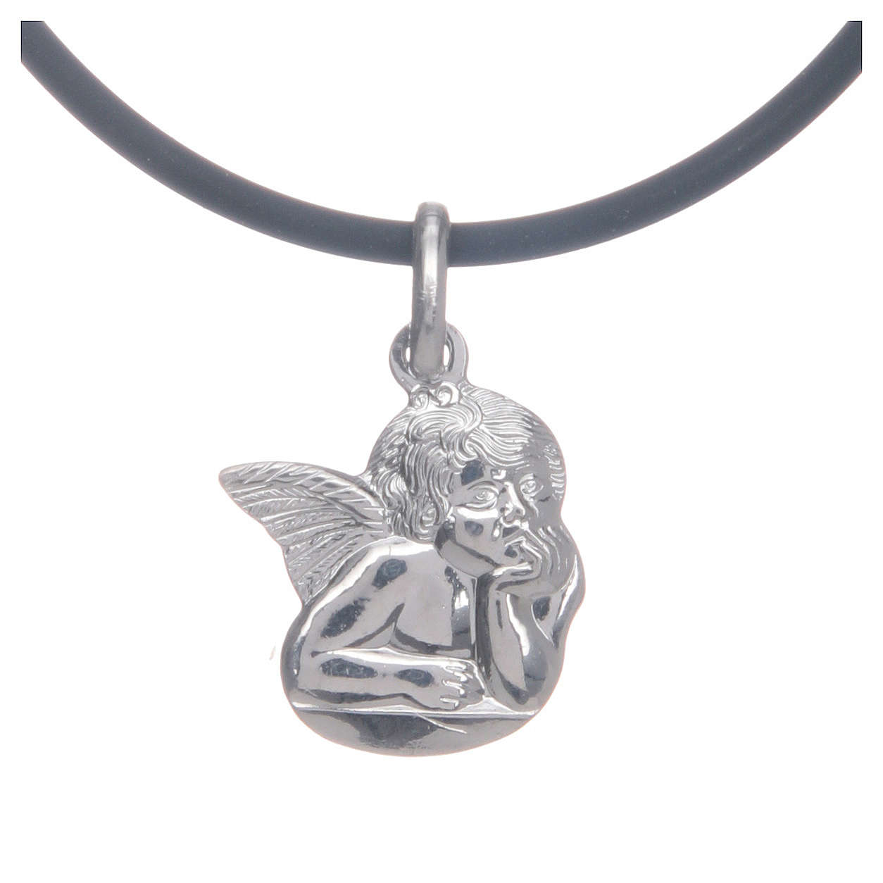 Collier avec Ange de Raffaello en argent 925 4