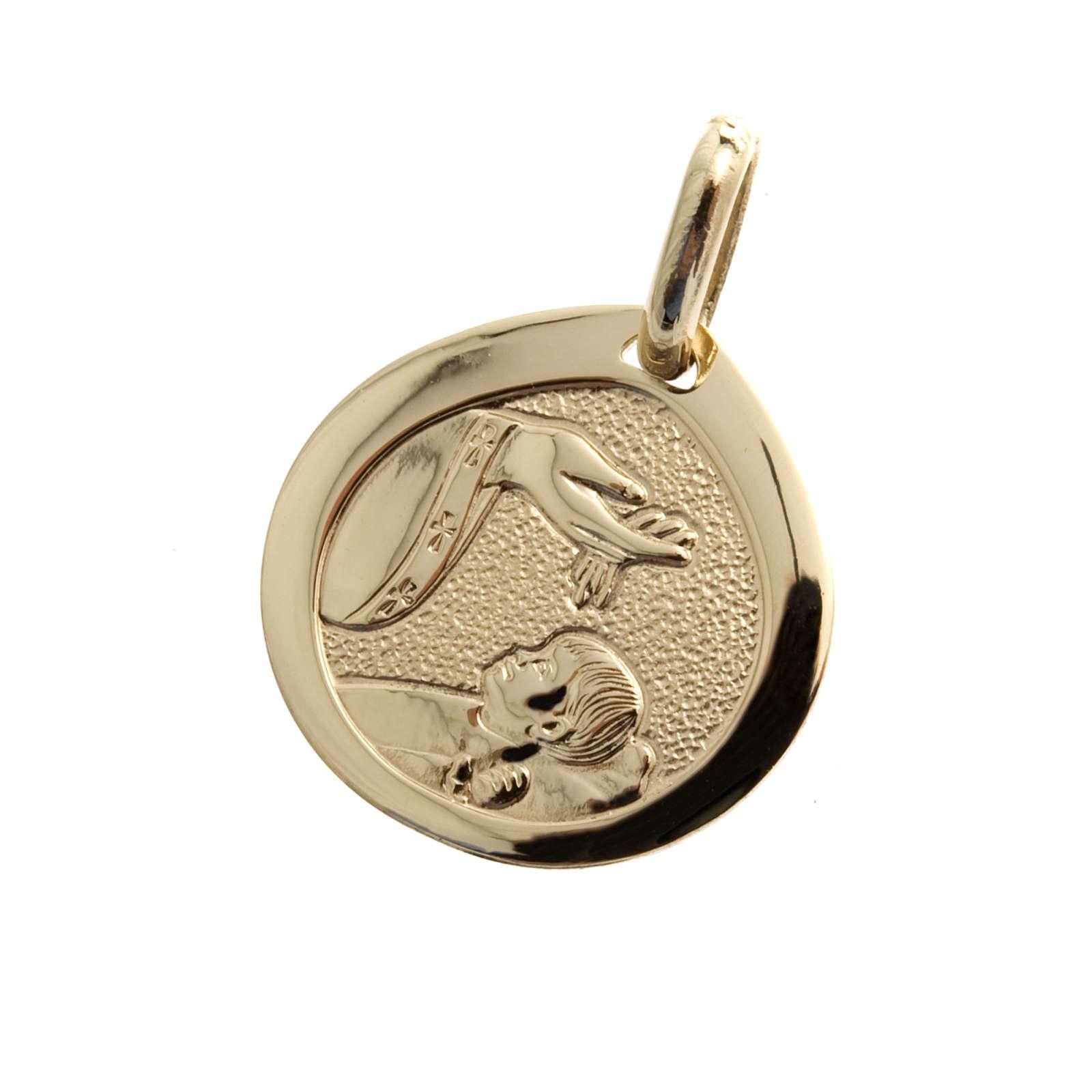 Baptism gold medal - 1,70 gr 4