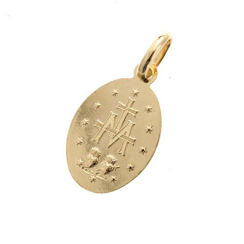 Medalla Milagrosa oro 750 3