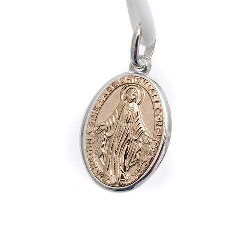 Miraculous medal necklace in silver 1
