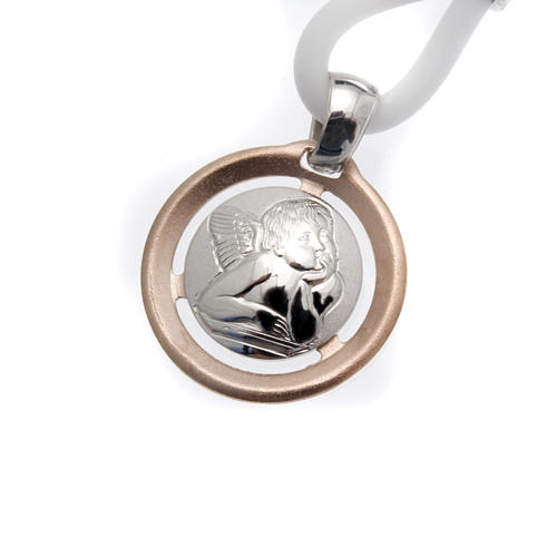 Collar Medalla con Ángel Plata 925 1