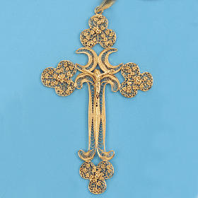 Pendente croce filigr. argento 800 - gr. 12.7 s2