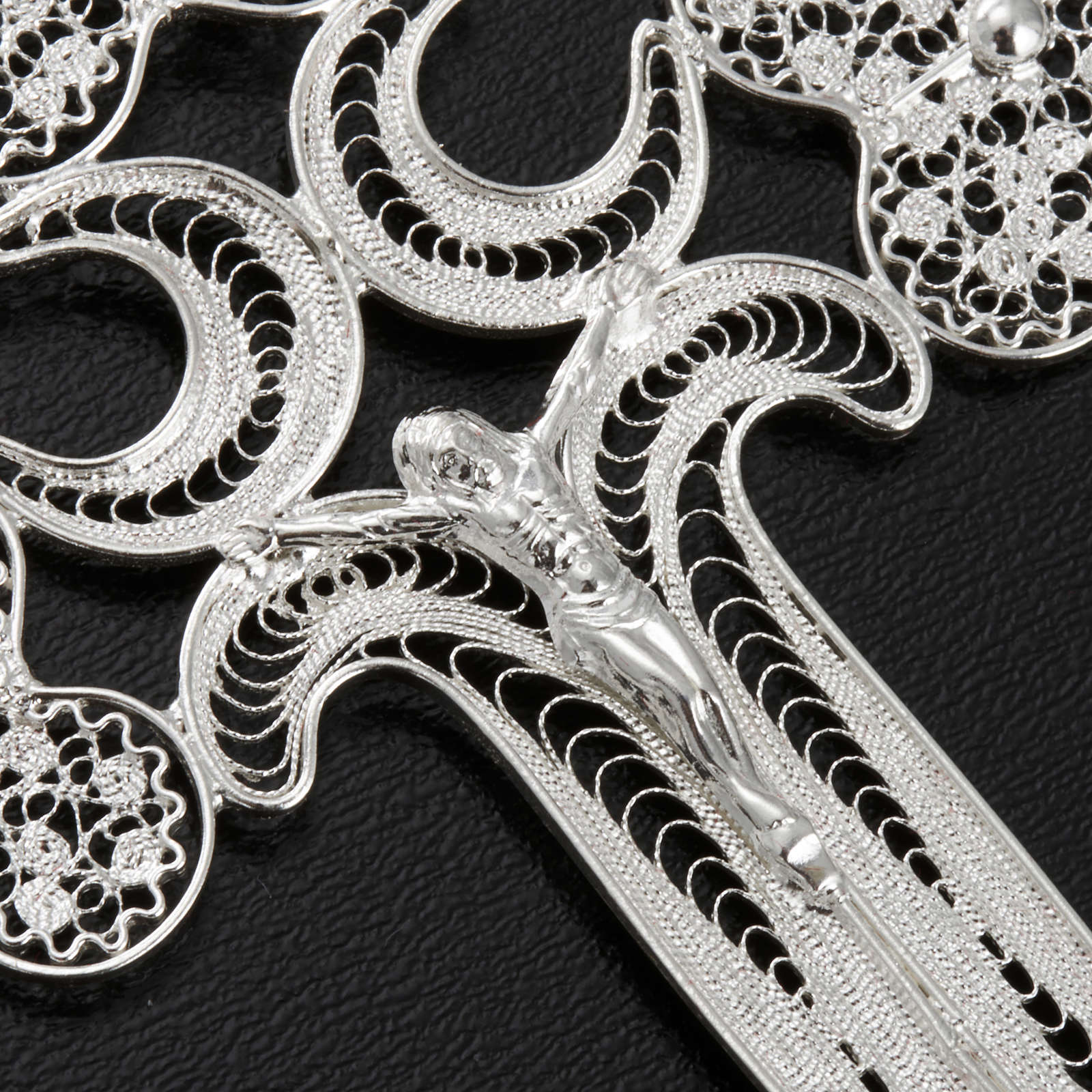 Cross pendant, 800 silver, 12,7g 4