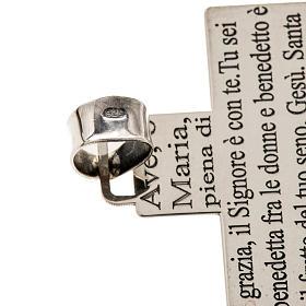 Krzyżyk srebro 925 Ave Maria s3