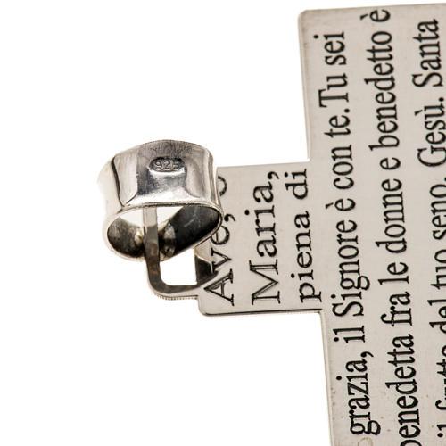 Krzyżyk srebro 925 Ave Maria 3