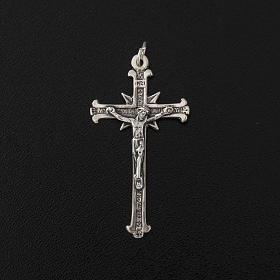 Pendente argento 925 croci raggi 4,8 cm s3