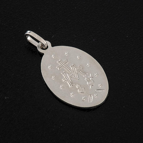 Miraculous Medal, sterling silver, 2,3cm 3