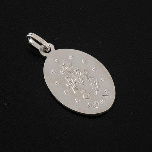 Medalla de la Virgen de la Milagrosa, plata 925 3