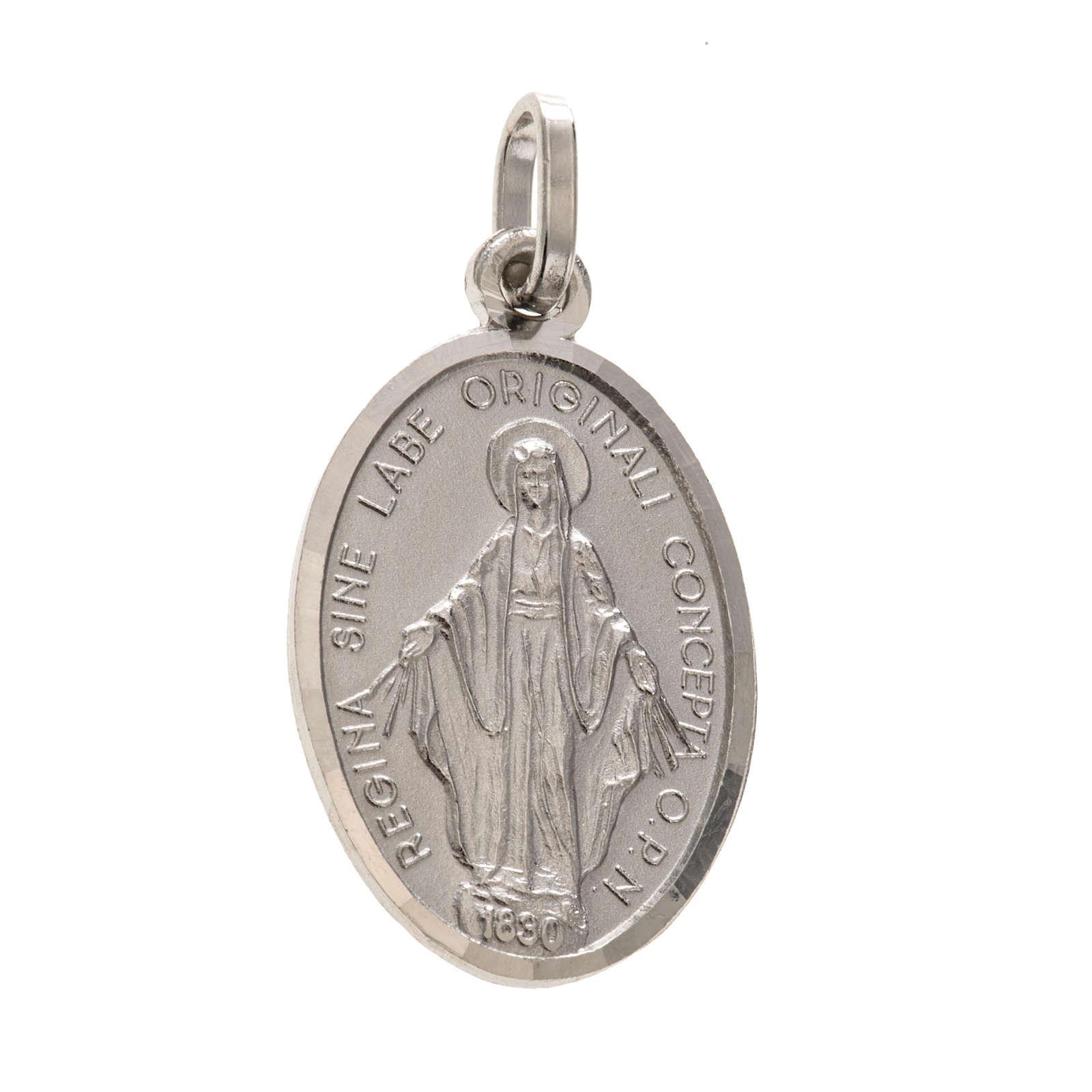 Médaille Miraculeuse argent 925 4