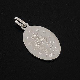 Medaglia Miracolosa argento 925 s3