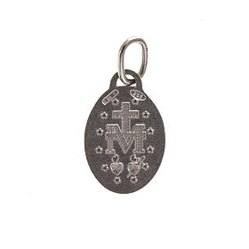Miraculous Madonna Medal, sterling silver, 1,5cm s2