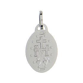Medaglia argento 925 Madonna Miracolosa s2