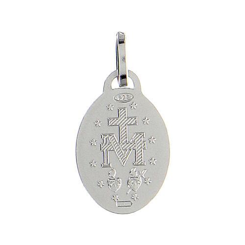 Medaglia argento 925 Madonna Miracolosa 2