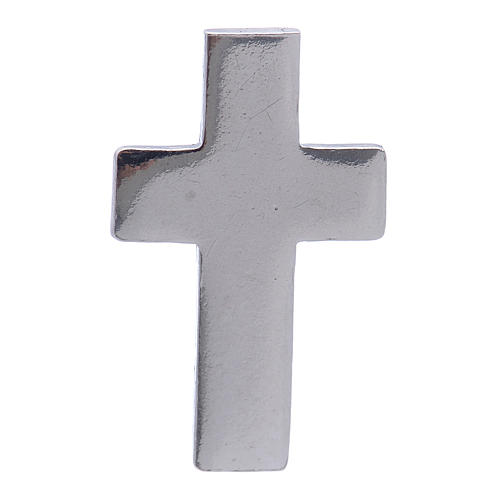 Cruz distintivo clero, broche plata 925 1