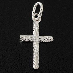 Croix décorée argent 925 h 2.5 cm s2