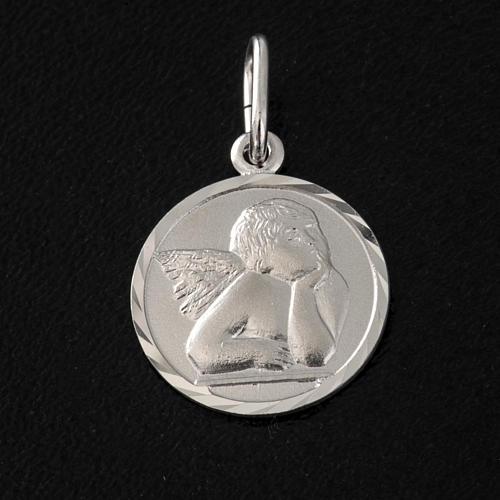 Médaille argent 925 ange 1.5 cm 2