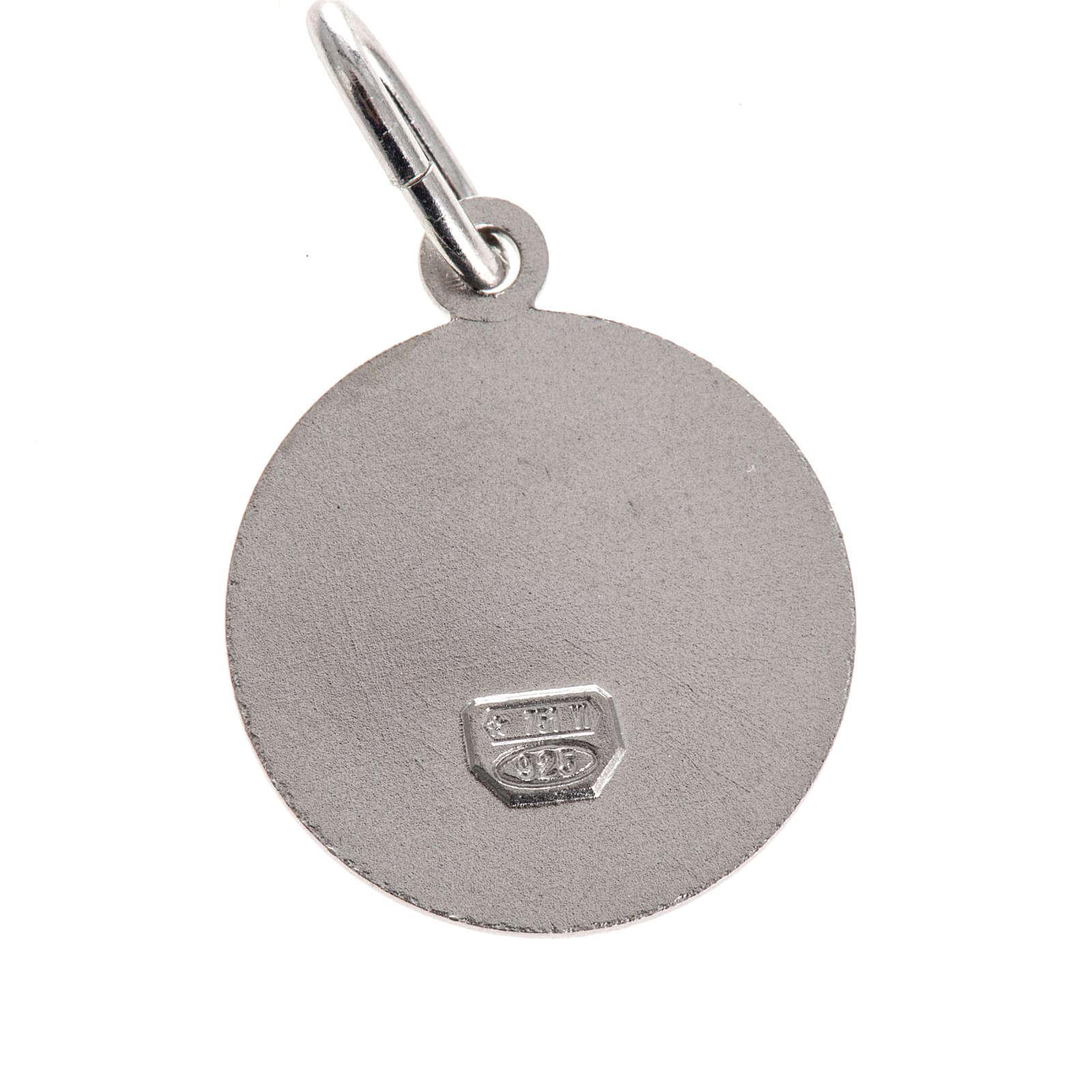 Médaille ronde argent 925 Vierge des douleurs 1.5 cm 4